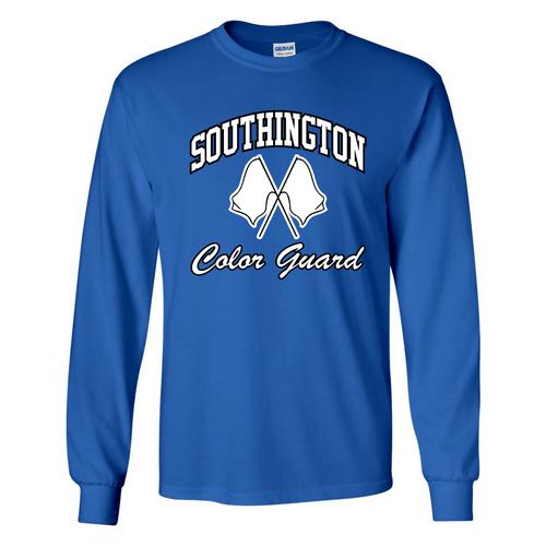Southington Color Guard Royal Long Sleeve