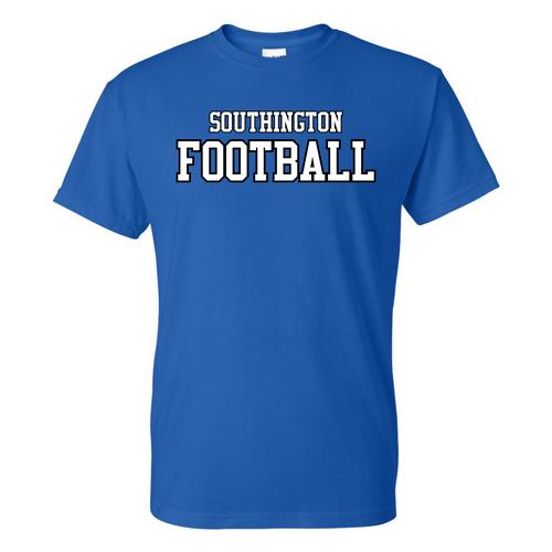 Southington Football Straight Logo T-Shirt