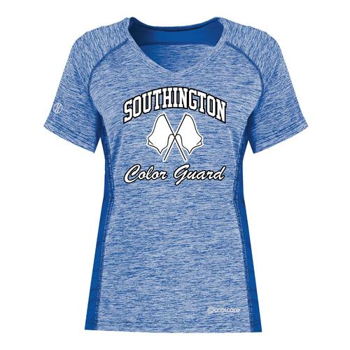 Southington Color Guard Ladies Cool Core T-Shirt
