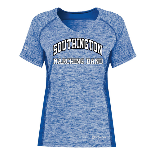 Southington Marching Band Ladies Cool Core T-Shirt