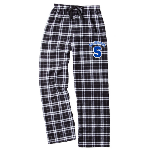 Southington Black and White Flannel Pants