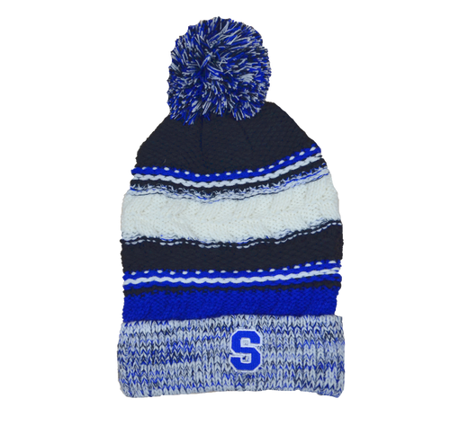 Southington Slouchy Pom Pom Hat