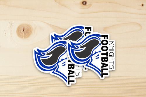 Knights Memorial Park Football Sticker
