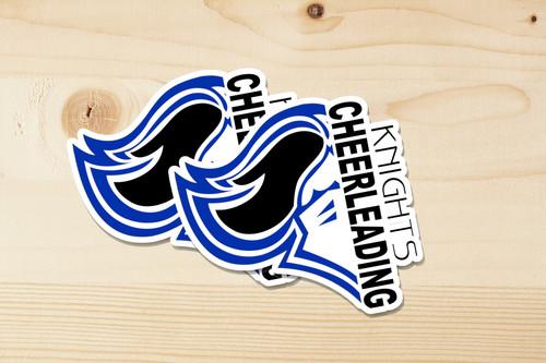 Knights Memorial Park Cheerleading Sticker