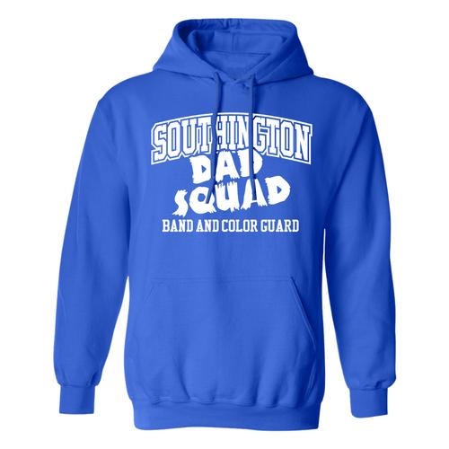 BKMB Dad Squad Royal Russell Sweatshirt