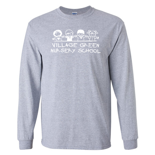 Village Green Nursery Sport Gray Long Sleeve (Youth and Adult)