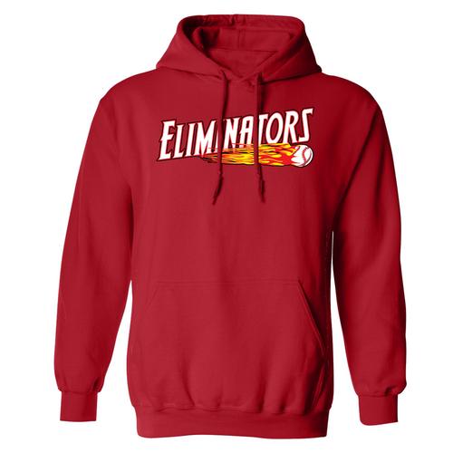 Eliminators Red Sweatshirt (Ink Logo)