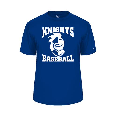 Knights BB Moisture Management Short Sleeve