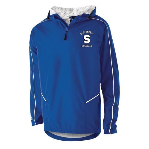 SHS Baseball Fan 1/4 Zip Jacket