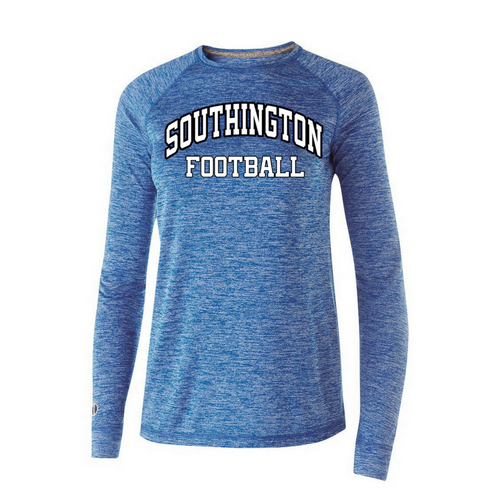 Southington Football Ladies Snowy Long Sleeve