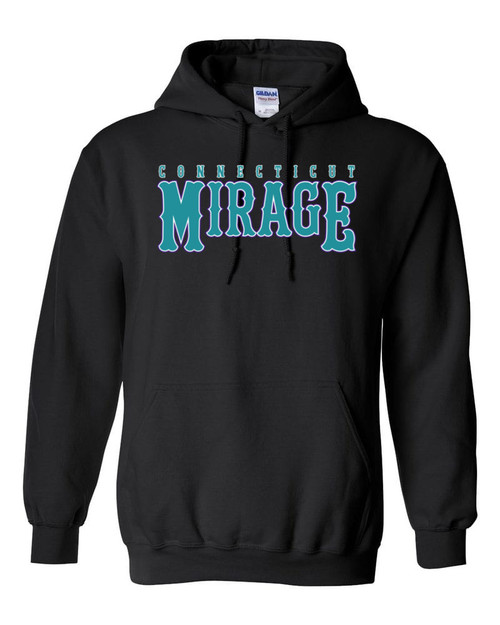 Mirage Softball Black Hoodie