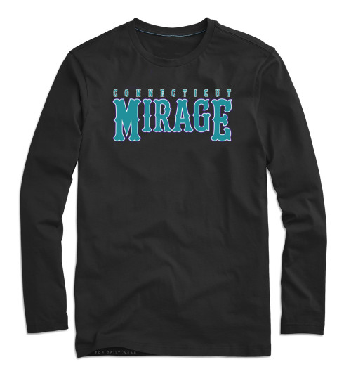 Mirage Softball Black Long Sleeve