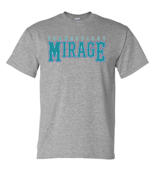 Mirage Softball Gray T-Shirt