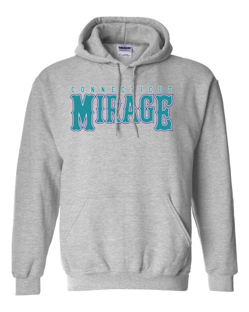 Mirage Softball Gray Hoodie