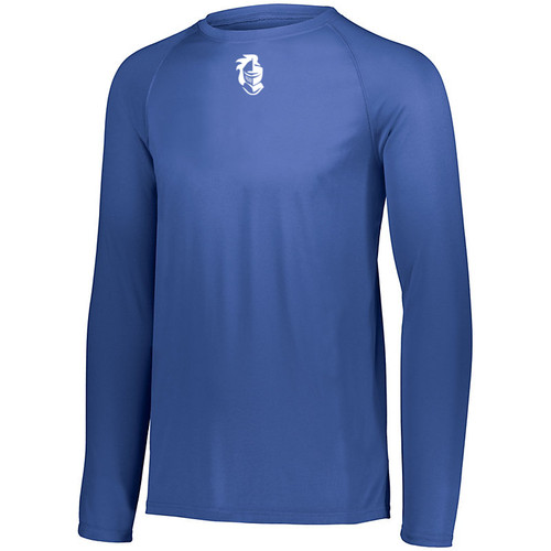 Knights BB Moisture Wicking Royal Long Sleeve