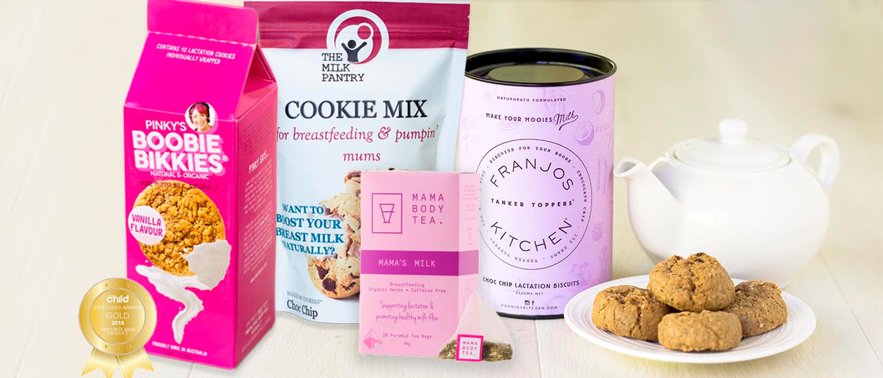 lactation cookies and tea
