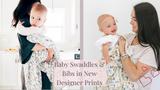 Baby Swaddle Blankets in Stylish Designer Prints by Bebe Au Lait