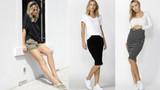 Stretchy Maternity Shorts & Skirts by Betty Basics for Pregnancy and Postpartum