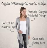 How To Create Stylish Pregnancy Wardrobe   Milk & Love