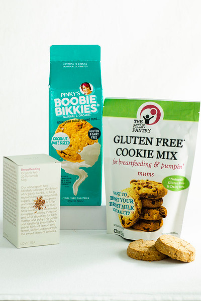 Gluten Free Lactation Cookies & Tea Bundles