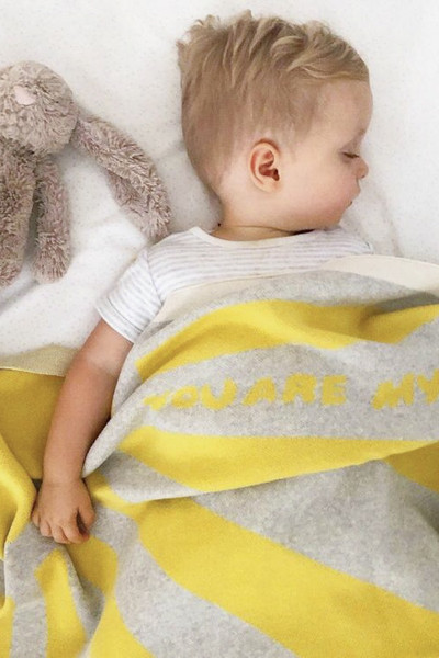 You are My Sunshine Organic Baby Blanket