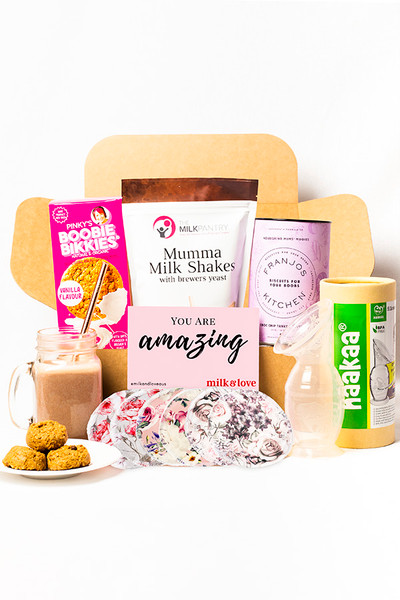 Lactation Cookies and Haakaa Breast Pump Kit for New Mums