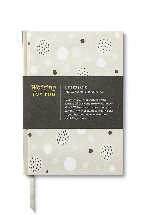 Waiting For You - Pregnancy Journal for Mums To Be