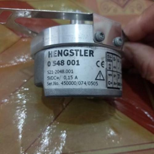 Used Encoder HENGSTLER 0 548 001 S21-2048.001