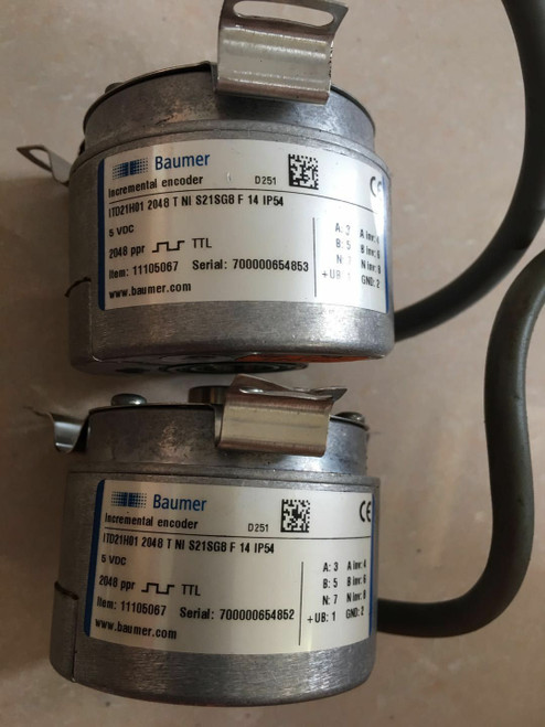 Baumer ITDZ1H01 2048 T NI S21G8F 14 IP54