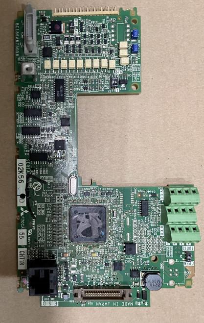 Mitsubishi inverter cpu board F70CA55 F700 F740 series BC186A675G55A