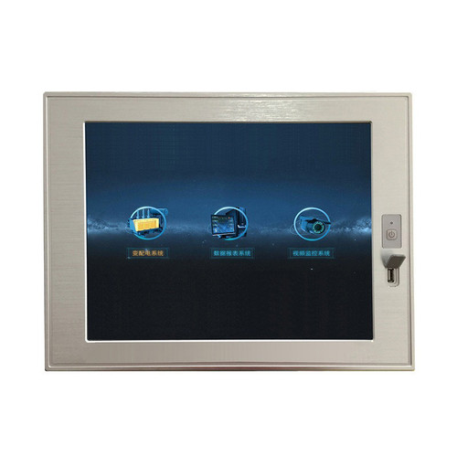 Hot Sale 15 17 19 Inch J1900 Industrial Panel PC Touch Screen