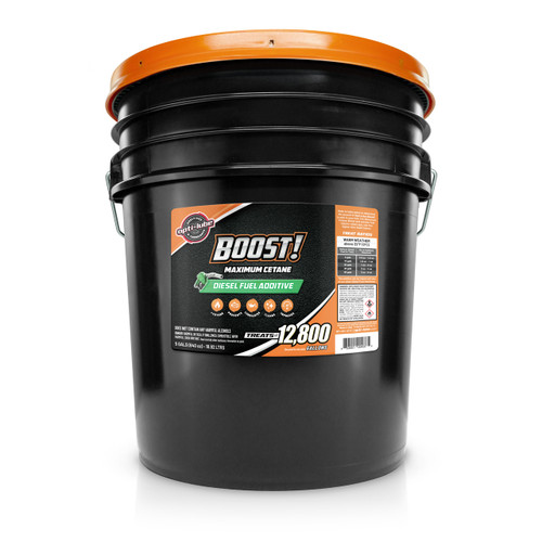 Opti-Lube Boost! Maximum Cetane Formula Diesel Fuel Additive: 5 Gallon Pail without Accessories, Treats up to 12,800 Gallons