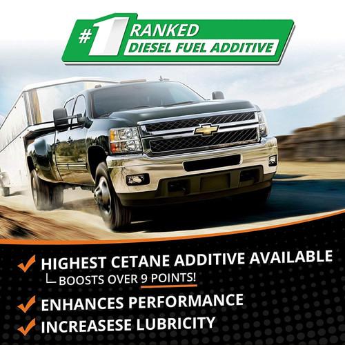 Opti-Lube Boost! Maximum Cetane Diesel Fuel Additive: Quart (32oz), Treats up to 640 Gallons