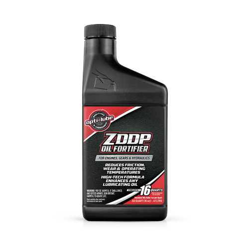 Opti-Lube ZDDP Oil Fortifier: 16 Ounce, Treats up to 16 Quarts of Oil