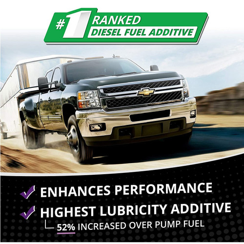 Opti-Lube XL Xtreme Lubricant Diesel Fuel Additive: 8oz 6 Pack, Treats up to 80 Gallons per 8oz Bottle