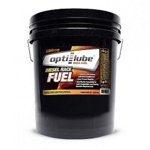 Opti-Lube Diesel Race Fuel for Competition Use, 5 Gallon Pail