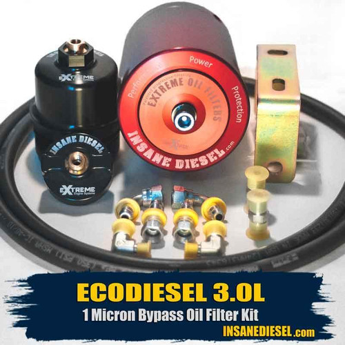 Jeep Grand Cherokee EcoDiesel 3.0L Bypass Oil Filter Kit