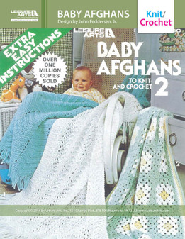 eBook Baby Afghans to Knit and Crochet