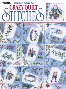 eBook The Big Book of Crazy Quilt Stitches