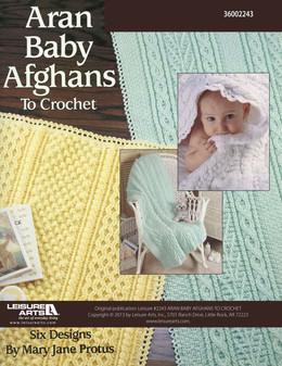 eBook Aran Baby Afghans to Crochet