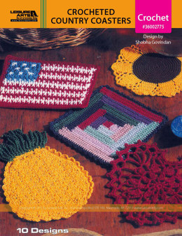 eBook Crocheted Country Coasters
