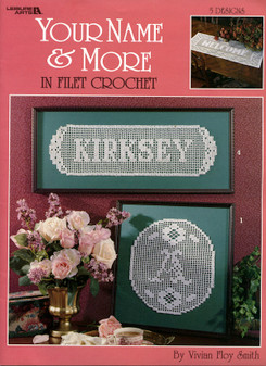 eBook Your Name And More In Filet Crochet