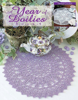 eBook A Year of Doilies Book 4