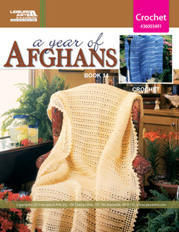 eBook A Year of Afghans Book 14