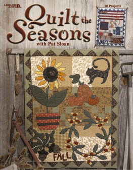 eBook Quilt the Seasons with Pat Sloan