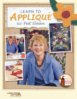 eBook Learn to Applique with Pat Sloan