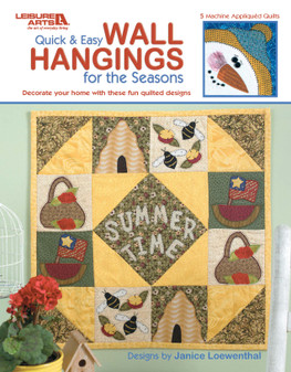 eBook Quick & Easy Wall Hangings for the Seasons