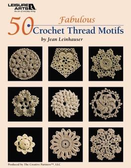 eBook 50 Fabulous Crochet Thread Motifs