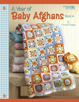 eBook A Year of Baby Afghans Book 4