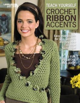 eBook Teach Yourself Crochet Ribbon Accents